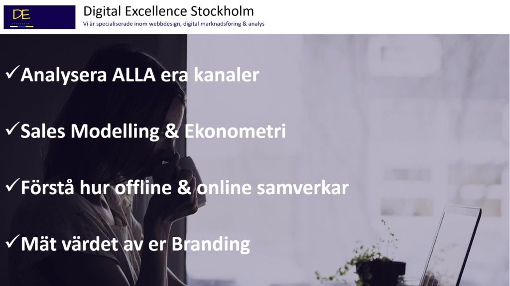 Sales modelling Agency