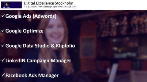 Digital marknadsföringsbyrå i Sverige